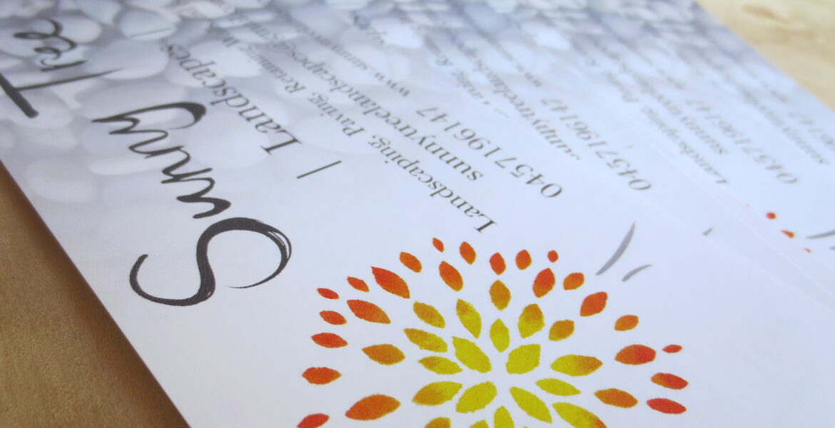 Branding for your business - Sunny Tree Landscapes