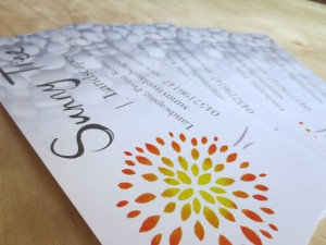 Sunny Tree Landscapes business cards