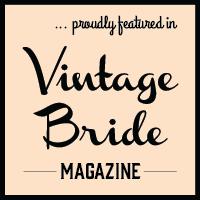 Vintage Bride Blog