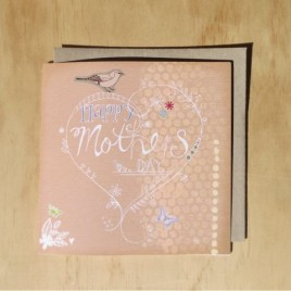 Mother's Day greeting card, Vintage style