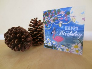 midsummer birthday card