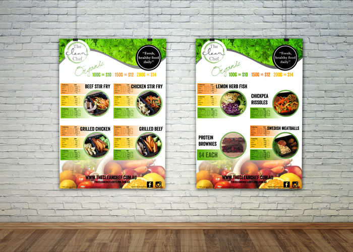 Clean Chef posters