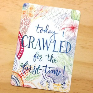 Crawled Milestone Card