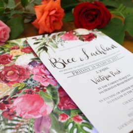 Bree and Lachlan Invitation Suite