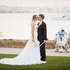 How to bring the Dark side to your Light side – Star Wars themed wedding