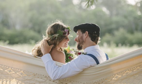 Bohemian country wedding