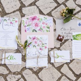 What makes custom designed wedding stationery so perfect?