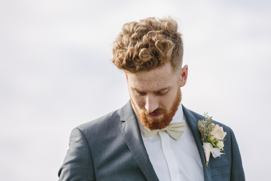 red headed man